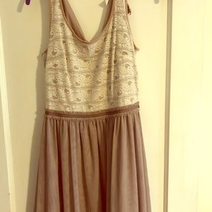 Lauren Conrad size Small lace and tule dress